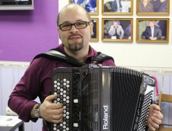 аккордеонист Андрей Сабкеев