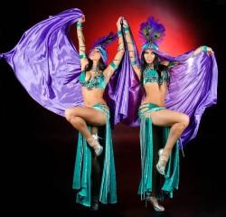Экзотический восточный шоу-дуэт «Шамаханские царицы»