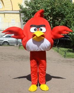 костюм Angry Birds - ростовая кукла Энгри бердз