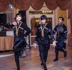 кавказские танцоры - шоу-группа