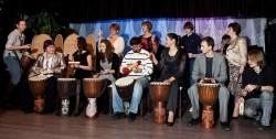 Большой барабанный оркестр