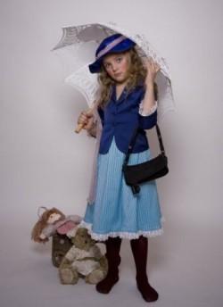 Детский карнавальный костюм Старухи Шапокляк