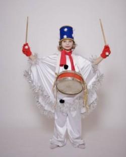 Детский карнавальный костюм Cнеговик