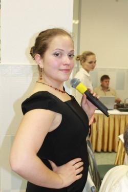 Ведущая Екатерина Маркова