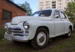 ретроавтомобиль «Победа» ГАЗ-М-20