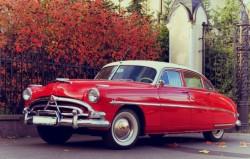 ретро автомобиль в прокат Hudson Hornet