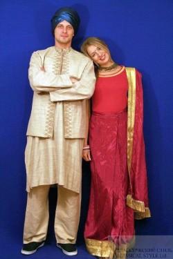 Женский индусский костюм