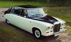 ретро автомобиль в прокат - лимузин Jaguar Daimler