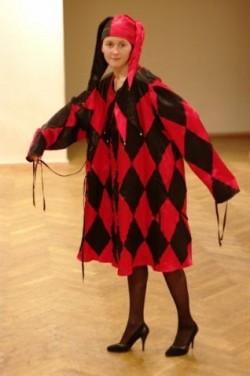Женский карнавальный костюм Арлекина