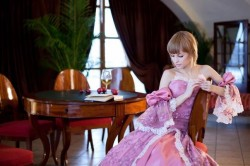 Женский дворянский костюм 18-19 века