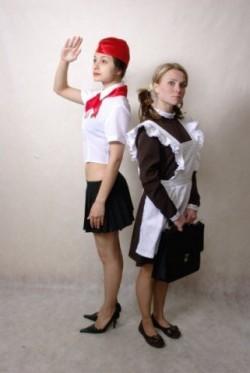 Костюм Советской школьницы