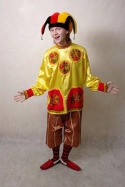 Женский костюм скомороха