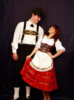 Женский баварский костюм