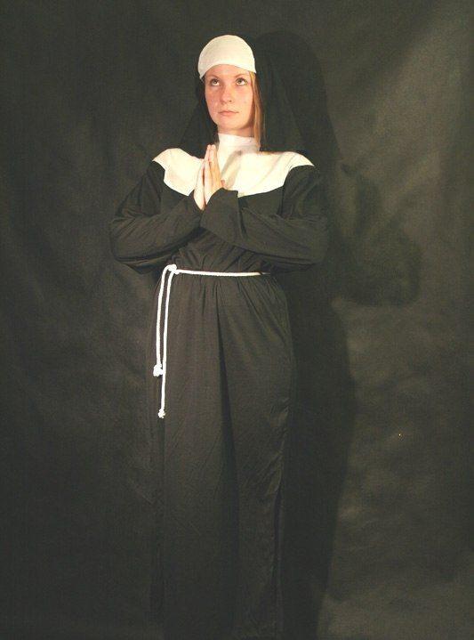 Наряд монашки своими руками 80