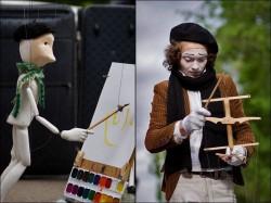 Кукла-художник