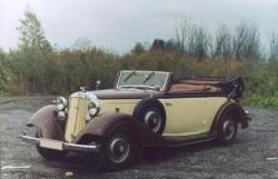 Ретро-кабриолет Horch