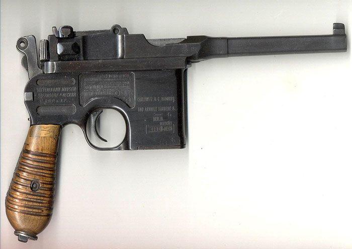аренда макета пистолета Маузер