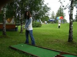 Аттракцион «Мини гольф»