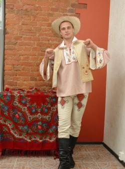 Мужской белорусский костюм
