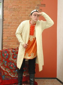 Мужской туркменский костюм