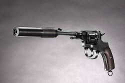 аренда макета револьвера Наган с глушителем