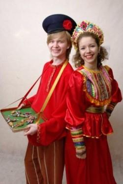 Мужской русский народный костюм