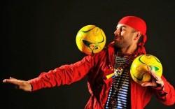 Найк - жонглерское шоу