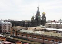 Фотосессия на крыше «Санкт-Петербург»
