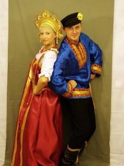Женский русский национальный костюм