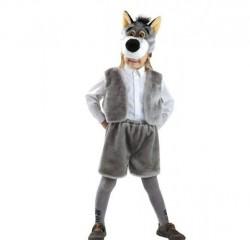 Детский карнавальный костюм Серого Волка