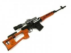 аренда макета снайперской винтовки Драгунова