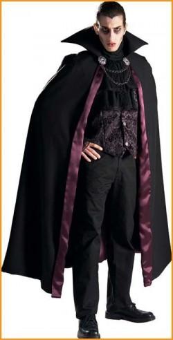 Мужской костюм на Хэллоуин - вампира