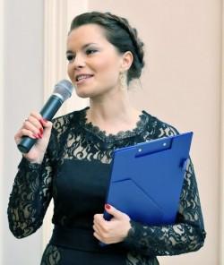 Ведущая Ирина Алферова