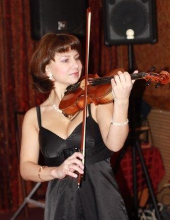 Cкрипачка Евгения Колосова