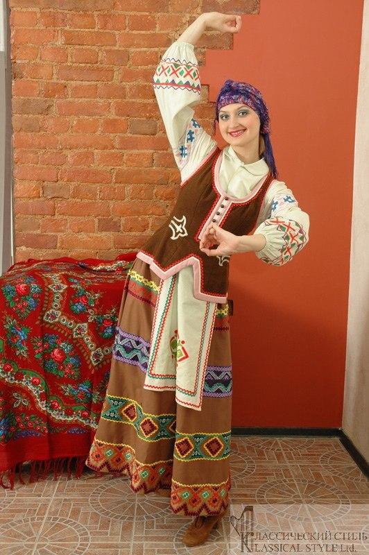 Молдавский Национальный Костюм Женский